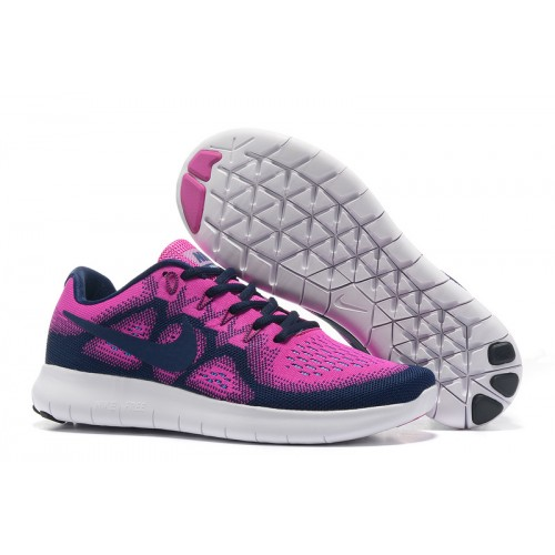 NIKE FREE RN 2 PURPLE DARK BLUE