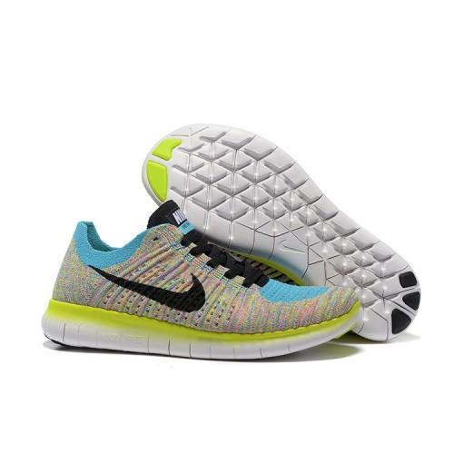 NIKE FREE RUN 5.0 FLYKNIT MULTI COLOUR