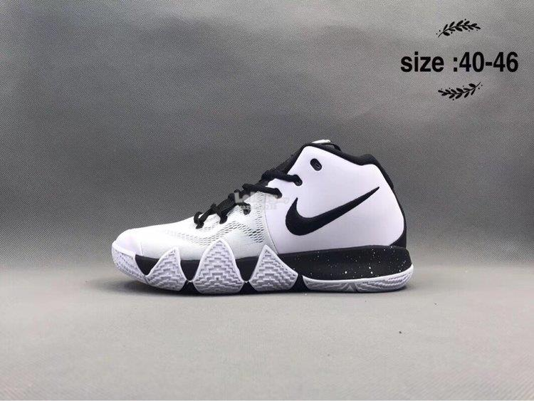 f8fa6d59948 Nike Kyrie Irving 4 black white (end 5 11 2019 4 15 PM)
