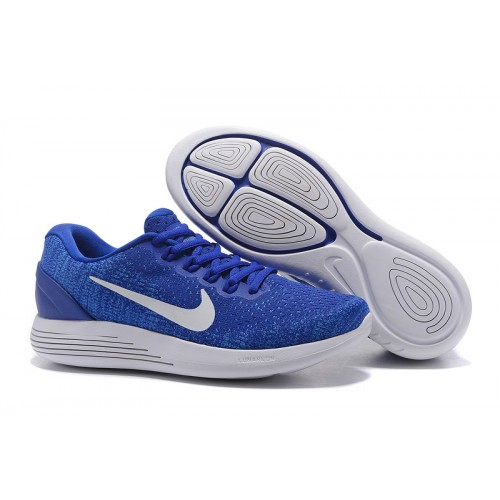 NIKE LUNARGLIDE 9 FLASH DIAMOND BLUE