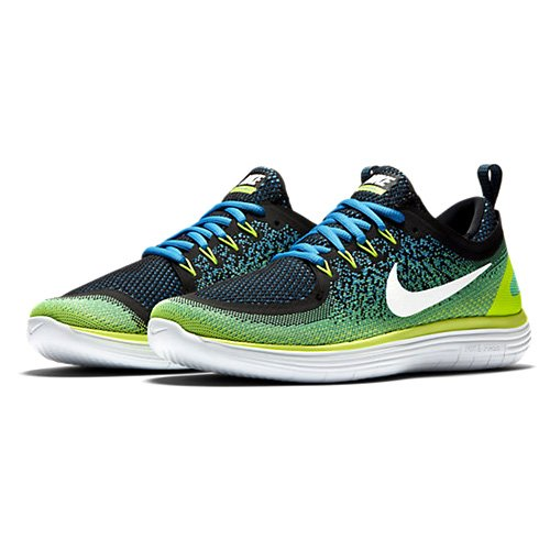 huge selection of e21b1 da8be NIKE Mens Free RN Distance 2, Chlorine BlueWhite, 9.5 M US. ‹ ›