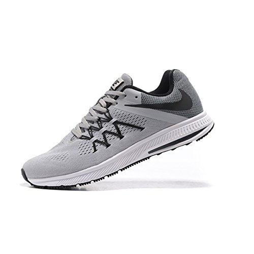 New Nike Mens Zoom Winflo 3 Running Shoe Platinum Grey 10. ‹ › d37d13f20