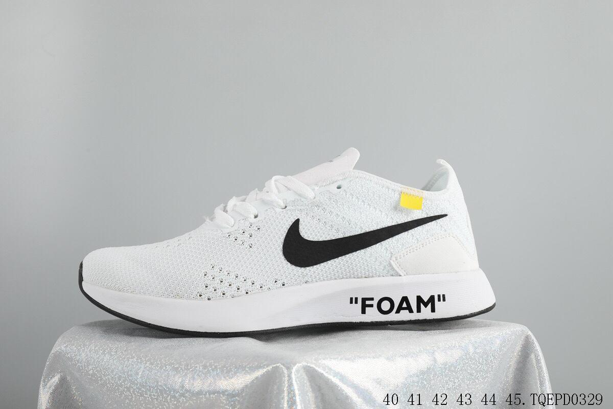 Nike Shoes NIKE FLYKNIT RACER@OFF WHITE. ‹ ›