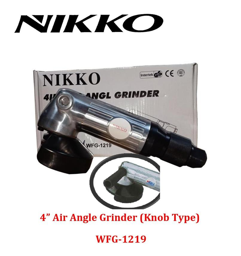 Nikko 4' (100mm) Air Angle Grinder (Knob Type)