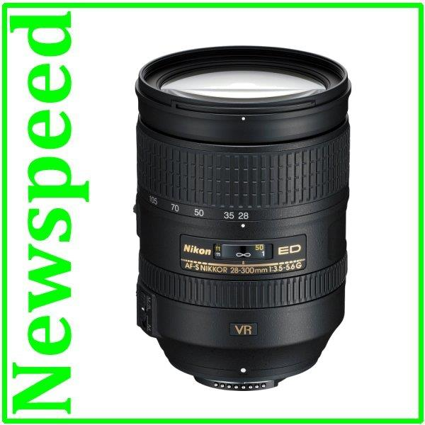 Nikon 28-300mm f/3.5-5.6G ED VR AF-S Lens New (Import)