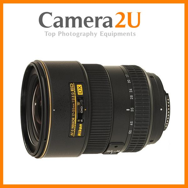 NEW Nikon AF-S DX 17-55mm f/2.8G IF-ED Lens (Malaysia)