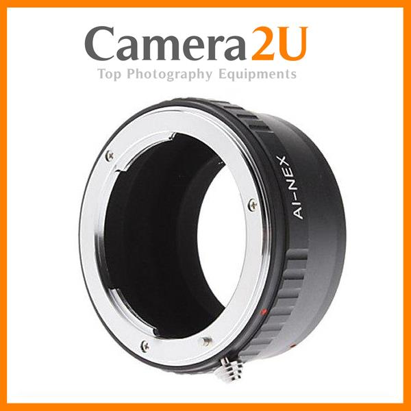 Nikon D Lens to SONY E Mount NEX Camera Adapter