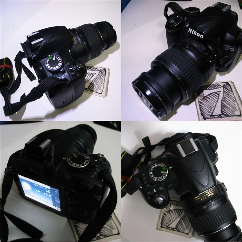 Nikon D3100 Digital SLR DDLR Camera 18-55mm Lens Rm730