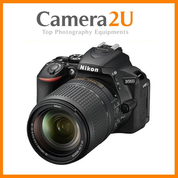 NEW Nikon D5600 With 18-140mm Lens + 16GB + Bag