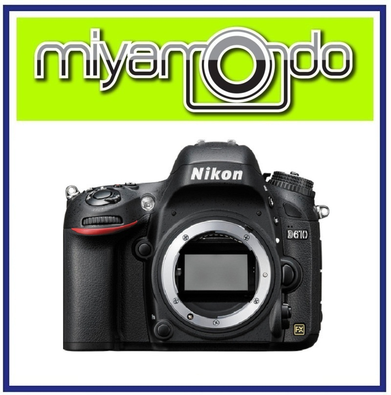 NEW Nikon D610 Body Full Frame DSLR (end 10/18/2018 5:42 PM)