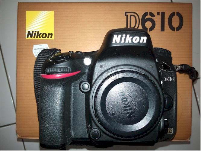 NIKON D610 Full Frame DSLR Camera (U (end 10/7/2018 3:15 PM)