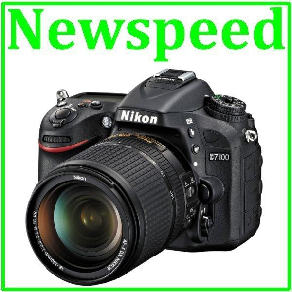 New Nikon D7100 + 18-140mm Lens Digital Camera +8GB+Bag