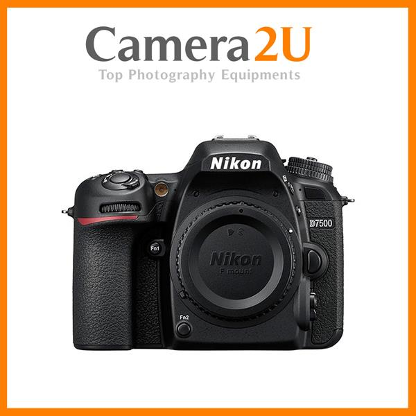 NEW Nikon D7500 DSLR Camera Body Only (Nikon Malaysia)