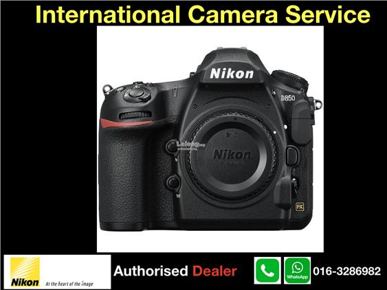 NIKON D850 DSLR Camera(Msia)Free 32GB XQD,XQD USB Adaptor,Pen+T-Shirt