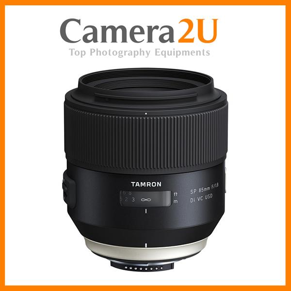 New Nikon Mount Tamron 85mm F/1.8 SP Di VC USD Lens (Import)