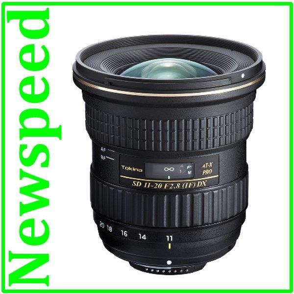 Nikon Mount Tokina 11-20mm F2.8 AT-X Pro DX Lens