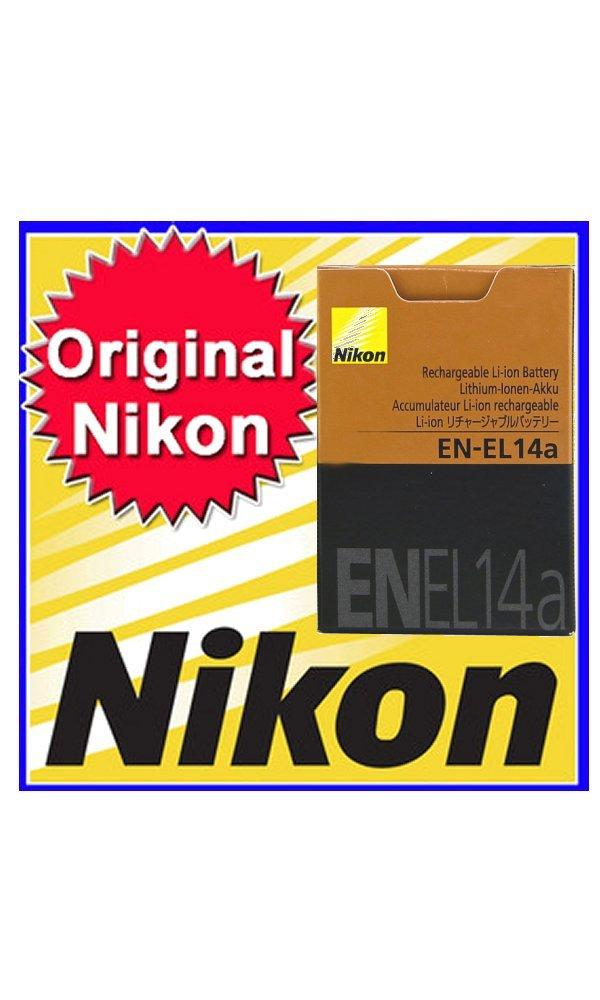 New Nikon Original EN-EL14a Battery for D3300 D3200 D5200 D5100 D3100