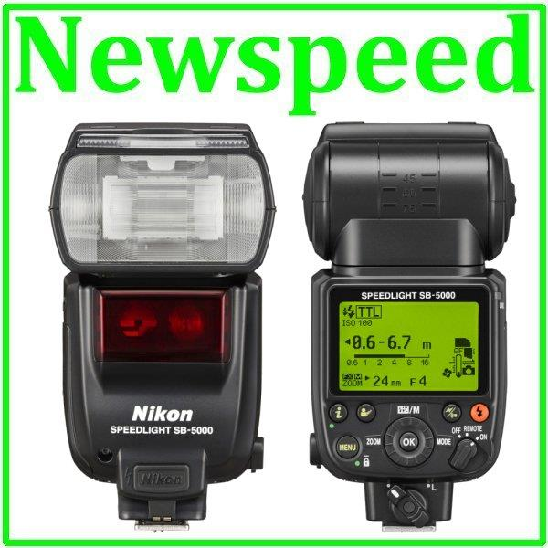 New Nikon SB-5000 AF Speedlight Flash Light Speedlite SB5000