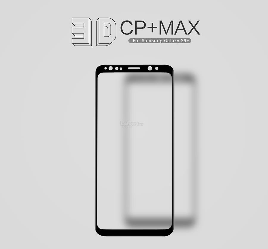 Nillkin 3D CP+ Max FullCover Tempered Glass Galaxy S8 S9 PLUS NOTE 8 9