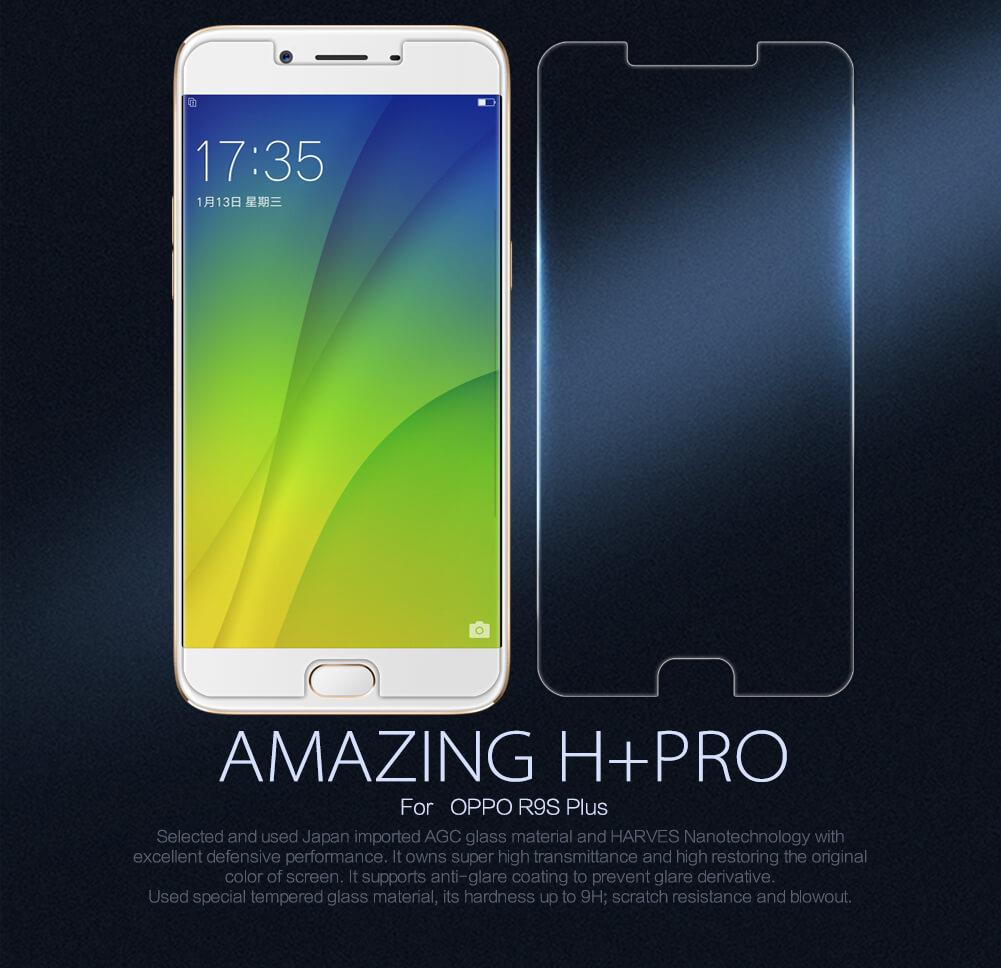 Nillkin Anti Explosion Amazing H+ Pro Tempered Glass for Oppo R9s Plus