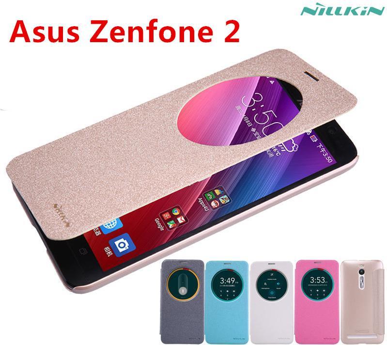 reputable site 24df6 6cc1c Nillkin Asus Zenfone 2 ZE550ML ZE551ML 5.5' Flip Smart Case Cover