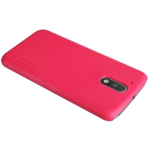 NILLKIN F - HC FROSTED SHIELD PROTECTIVE BACK COVER CASE FOR MOTO G4 PLUS (RED