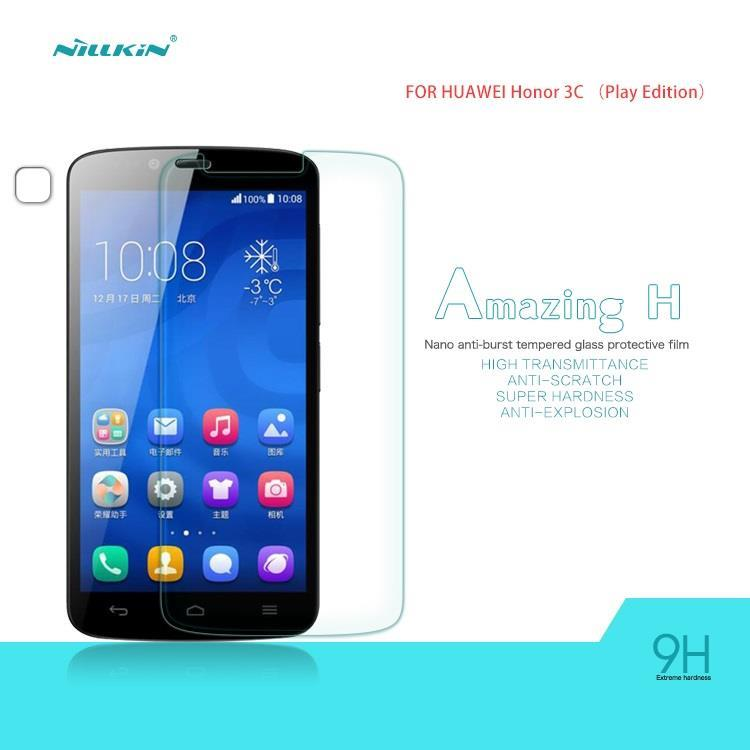 Nillkin Huawei Honor 3C Lite Amazing H Tempered Glass Screen Protector