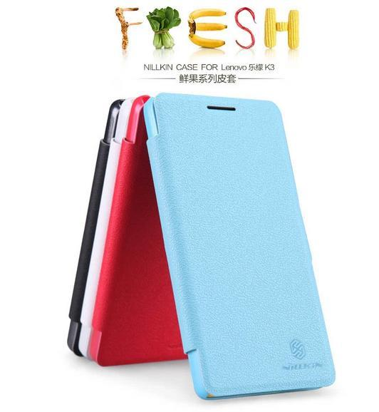 Nillkin Lenovo K3 Fresh Series Flip Case Cover Casing