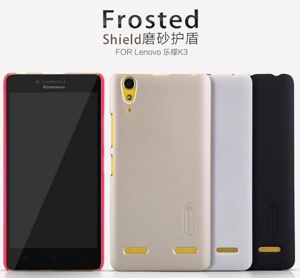 Nillkin Lenovo K3 Frosted Shield Back Case Cover + Free SP