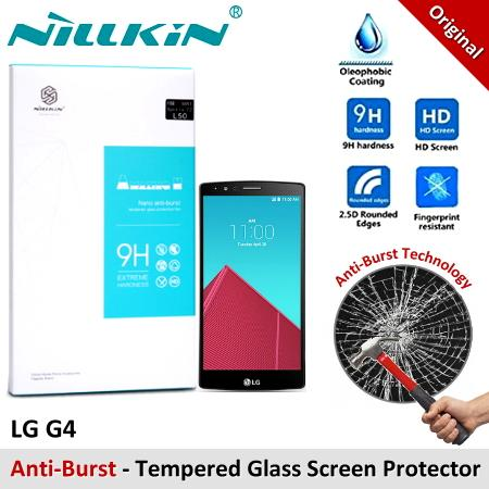Nillkin Nano Anti-Burst Tempered Glass Screen Protector LG G4