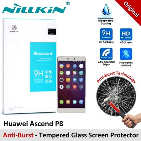 Nillkin Nano Tempered Glass Screen Protector Huawei Ascend P8