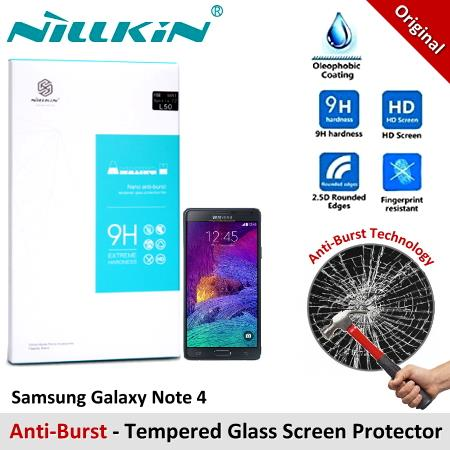 Nillkin Nano Tempered Glass Screen Protector Samsung Galaxy Note 4