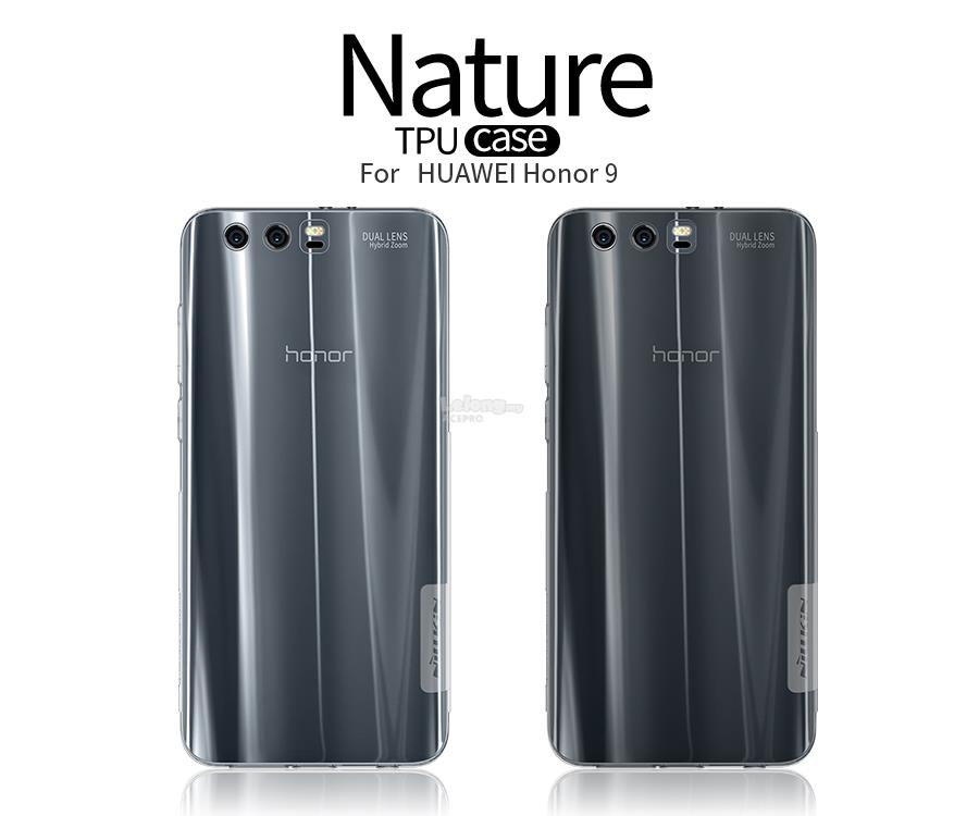 new style cb44e 9d4f2 Nillkin Nature TPU Clear Hard Back Case Huawei Honor 8 9 Nexus 6P