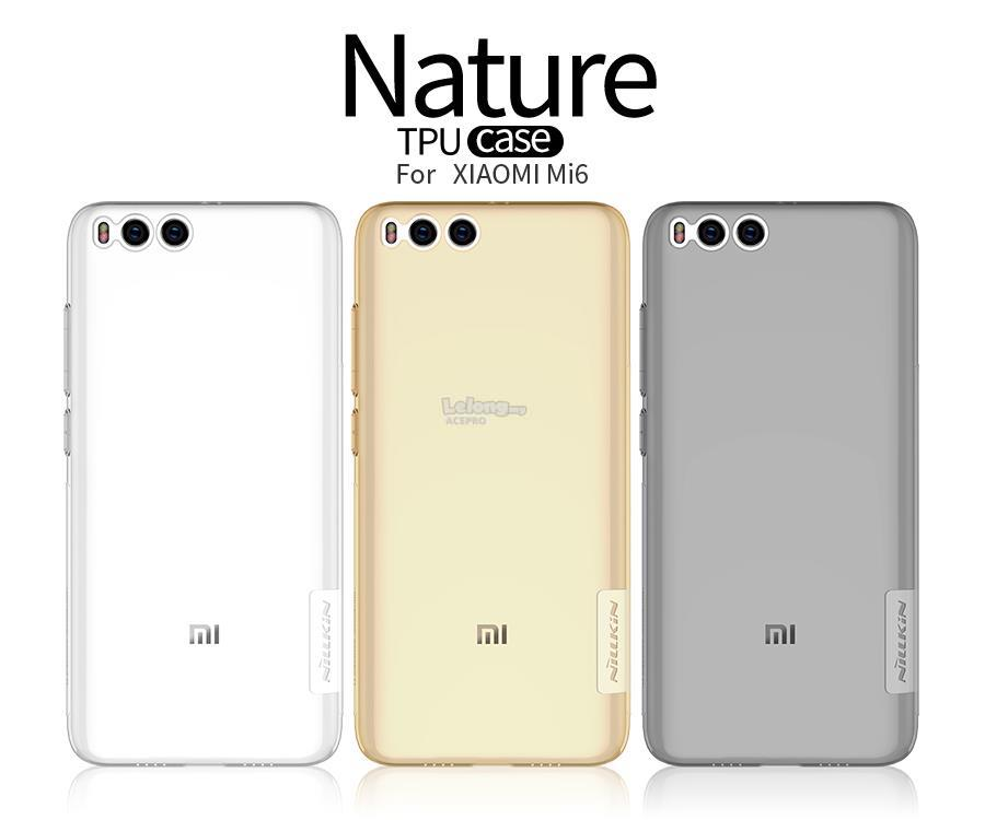 NILLKIN Nature XiaoMi Mi 5 6 Max 2 3 Note 2 3 Redmi Note 4 4X TPU Case