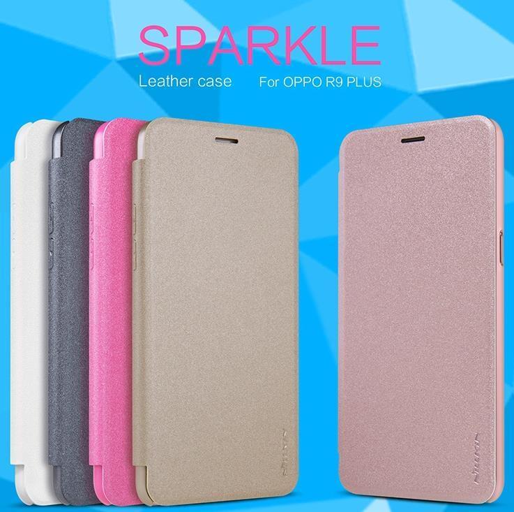 official photos 7e619 bd336 Nillkin OPPO F1 Plus R9 / Plus Flip Sparkle Leather Case Cover Casing