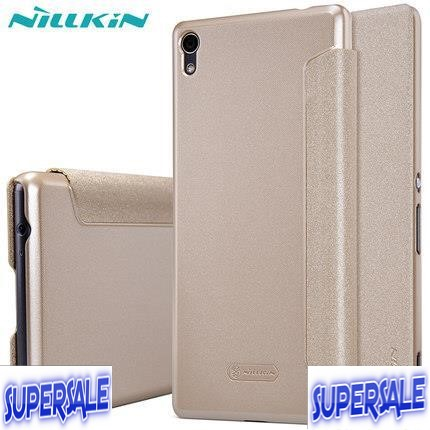 Nillkin PU Leather Casing Case Cover for Sony Xperia Xa Ultra f3216