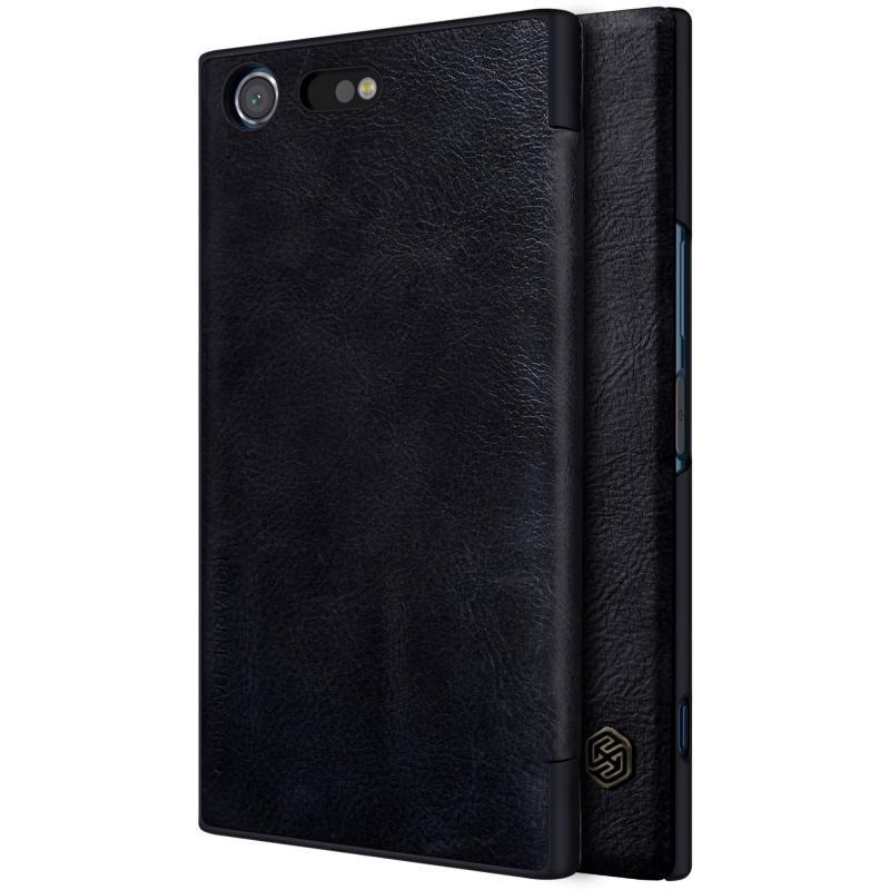 Nillkin Qin Series Leather Cover Flip Case for Sony Xperia XZ Premium
