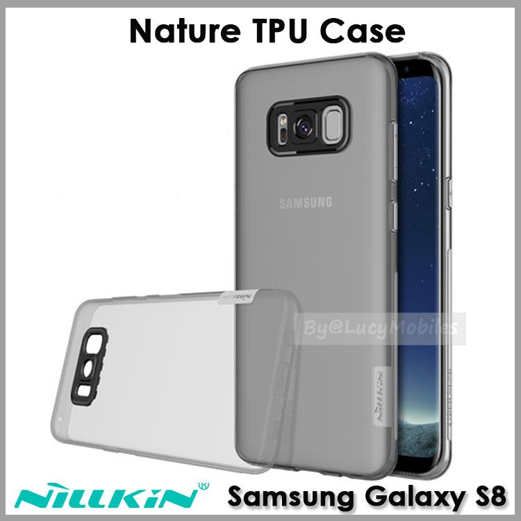 finest selection f4662 0d0dd NILLKIN SAMSUNG Galaxy S8 / S8+ Plus Nature TPU Case Casing Cover