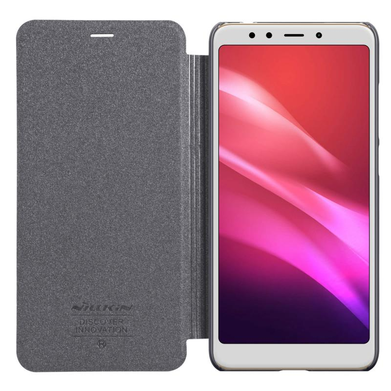 Nillkin Sparkle Series Leather Case for Xiaomi Redmi 5 Plus