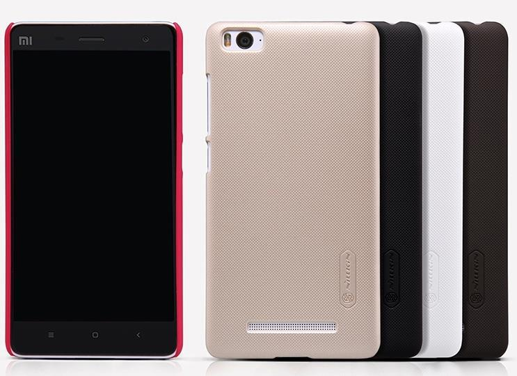 meet f2f8f 9816c Nillkin Xiaomi Mi 4i Mi4i Back Case Cover +Nillkin Screen Protector