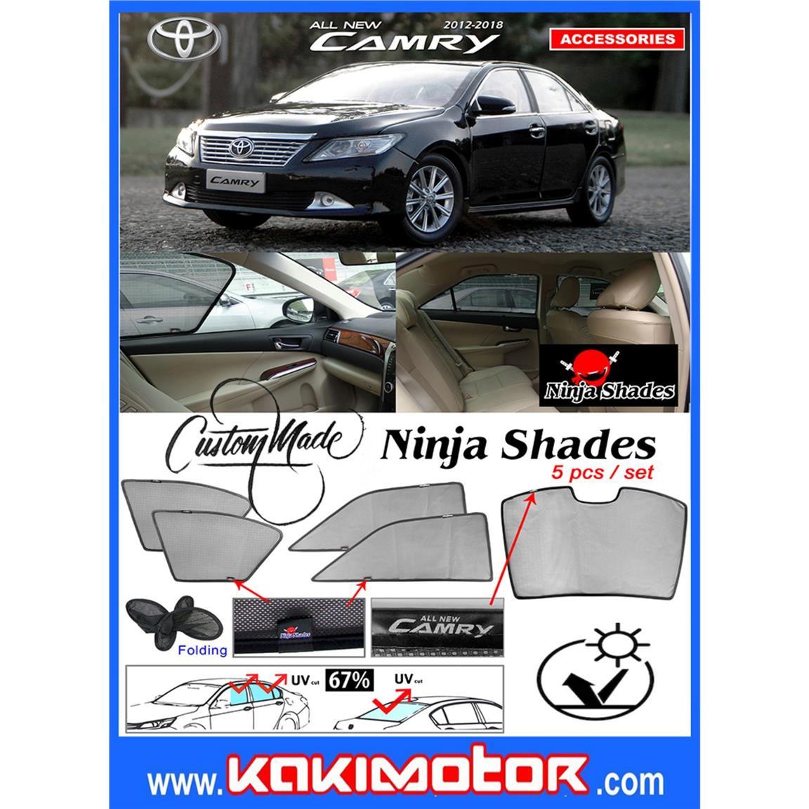 Ninja Sunshade for Toyota Camry XV (end 11 12 2019 12 15 PM) b4addcb4224