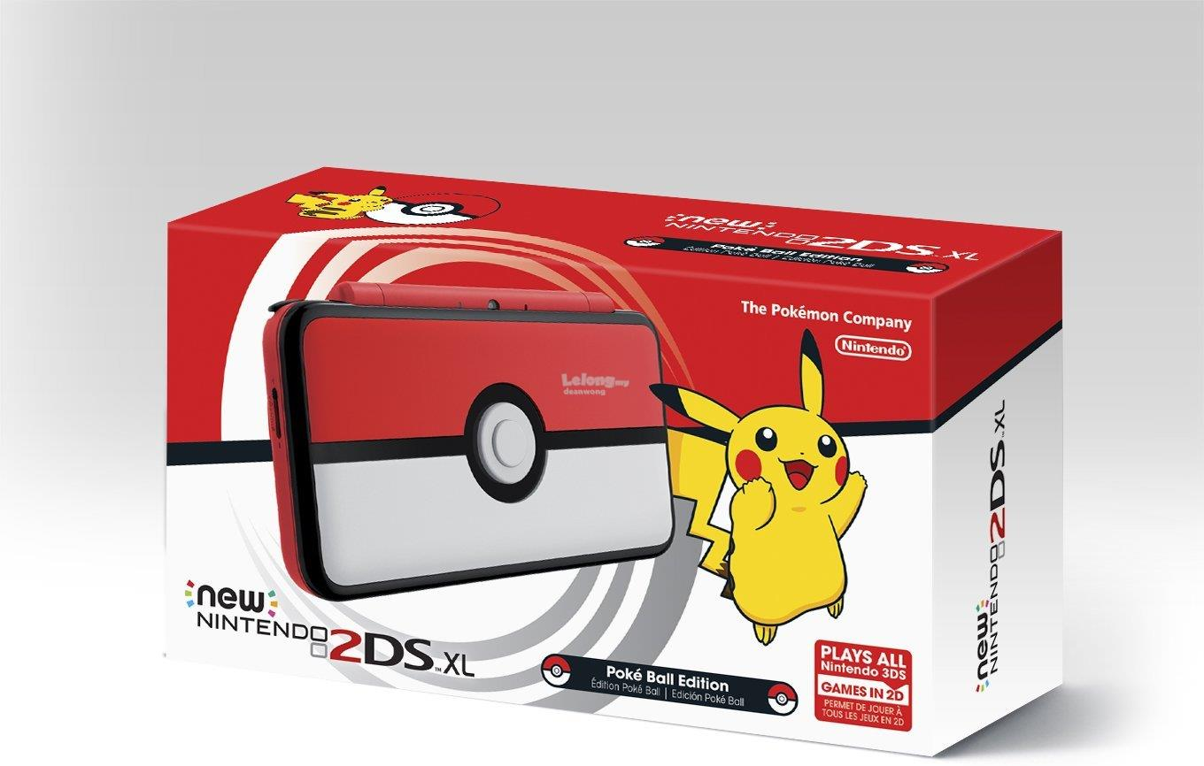 Nintendo New 2DS XL Poke Ball Edition