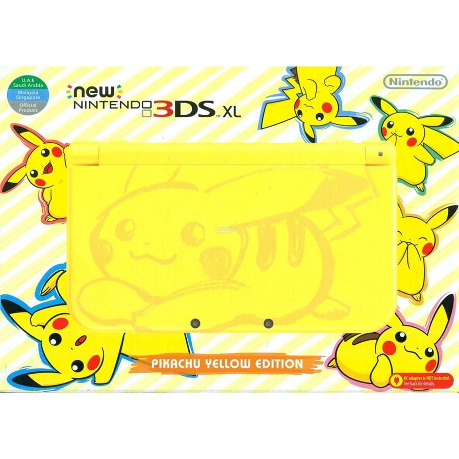 Nintendo New 3ds Xl Cfw 32gb Biru Spec Dan Daftar Harga Terbaru Ll Lime Black Luma Limited Edition Pikachu