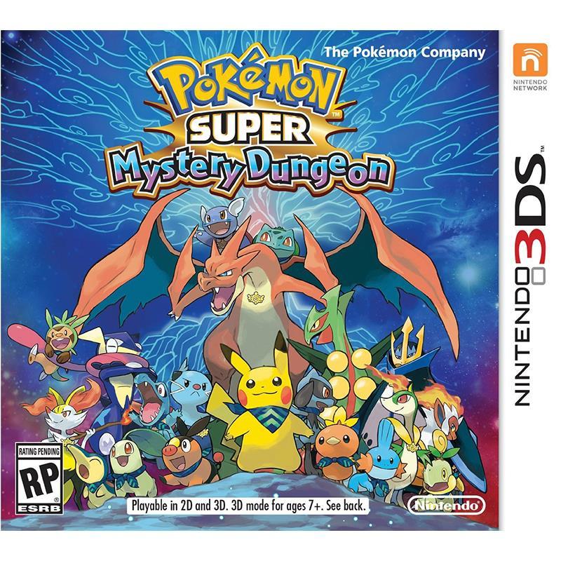 NINTENDO 3DS XL POKEMON SUPER MYSTERY DUNGEON