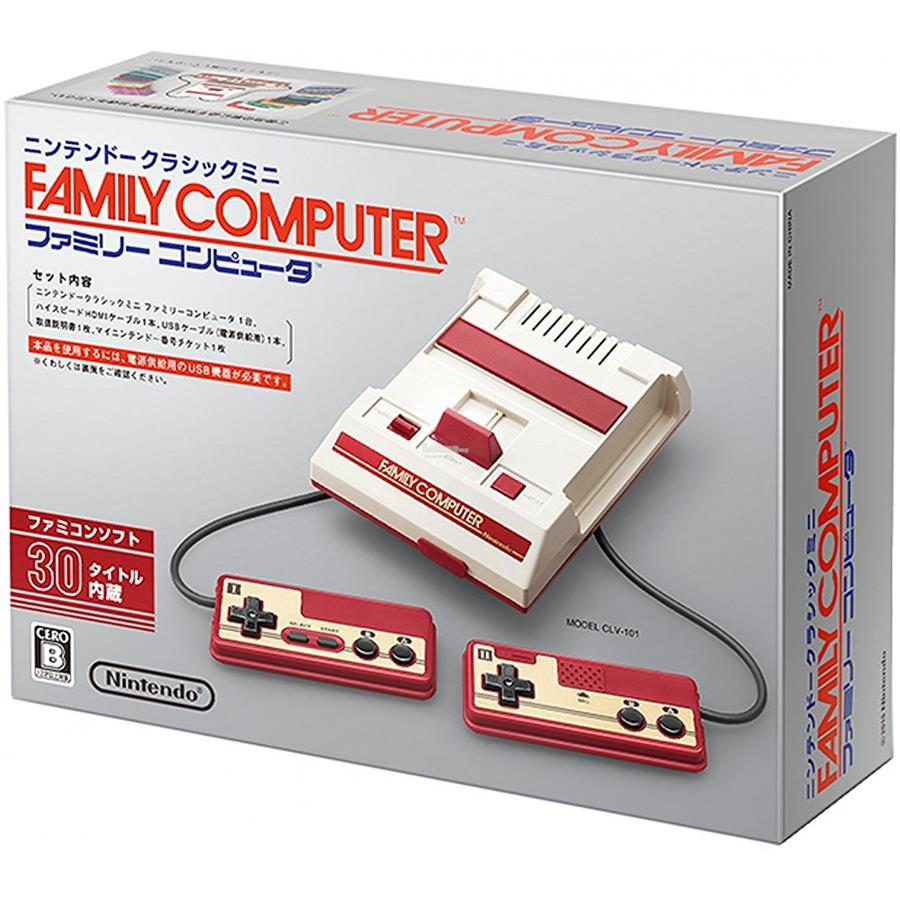 NINTENDO CLASSIC MINI FAMICOM HDMI HD 30 Games Mario Japan