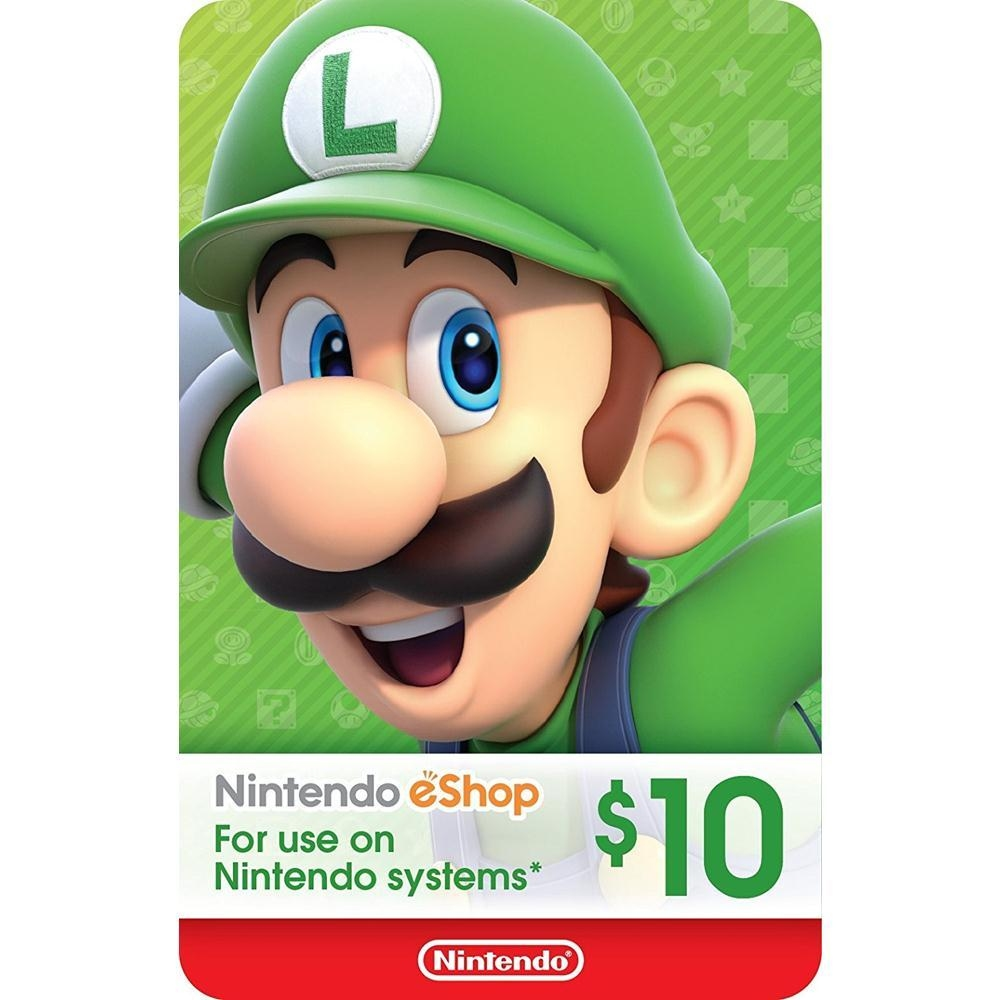 Unused 3ds points card codes - Nintendo Eshop Gift Card Usd 10 Switch Wii U 3ds Digital Code