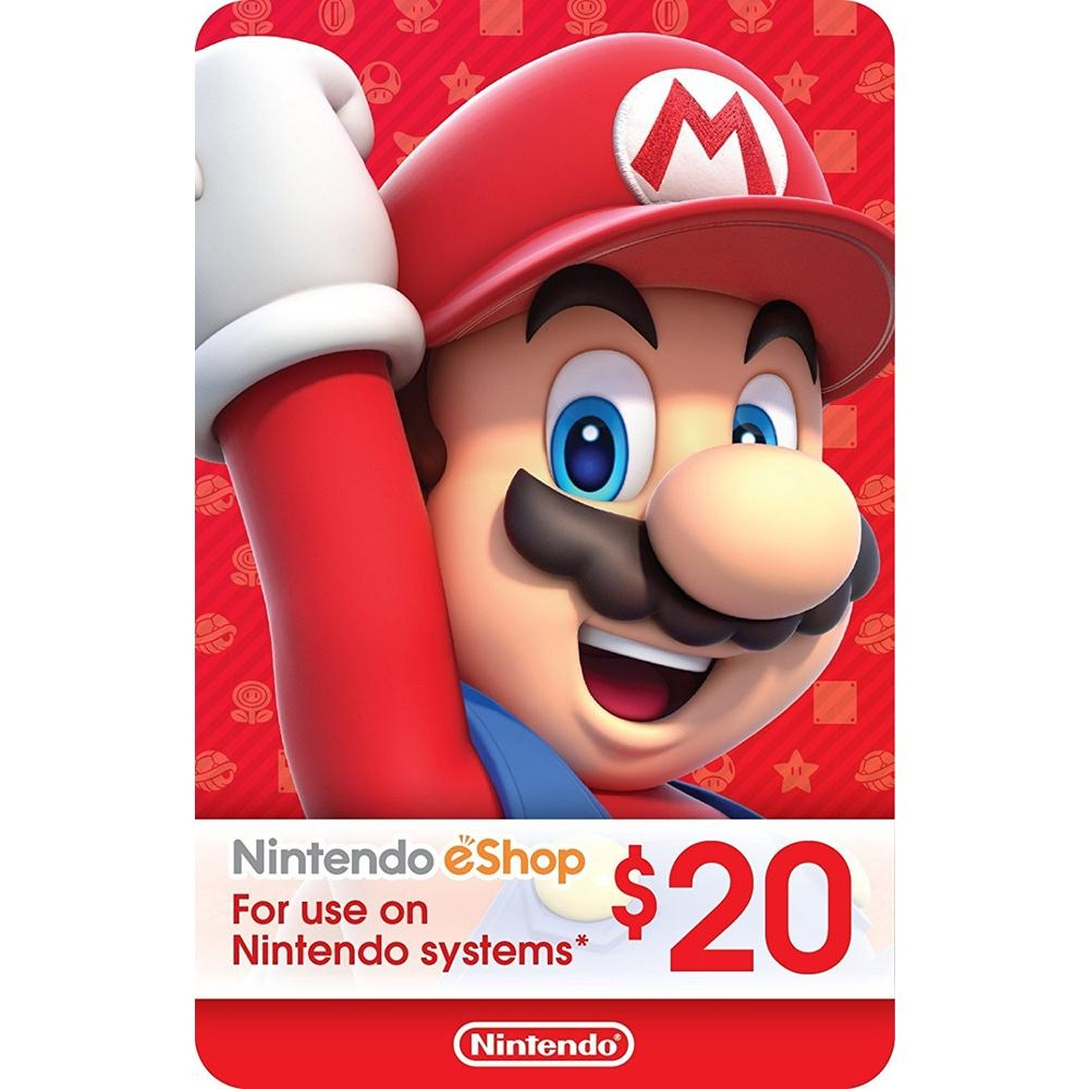 Nintendo eShop Gift Card USD 20 - S (end 11/30/2019 6:15 PM)