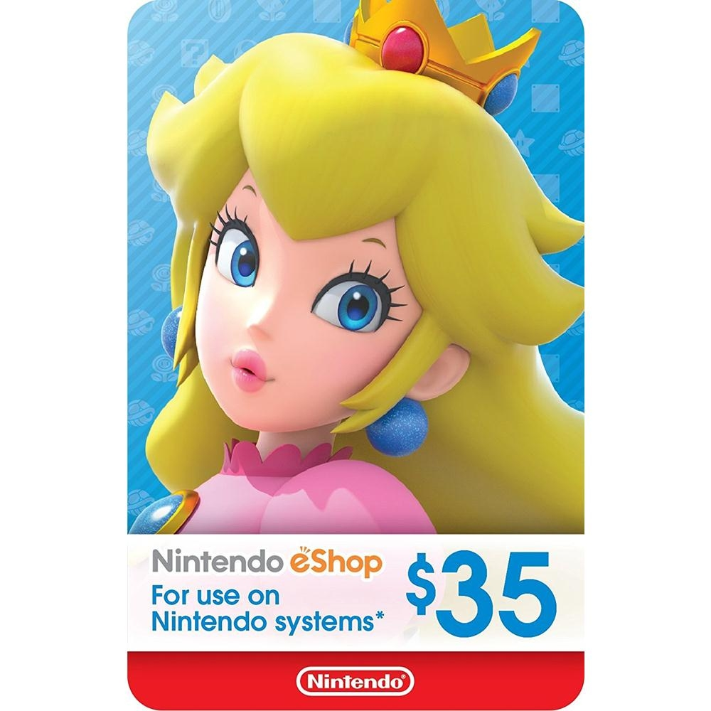 Unused 3ds points card codes - Nintendo Eshop Gift Card Usd 35 Switch Wii U 3ds Digital Code