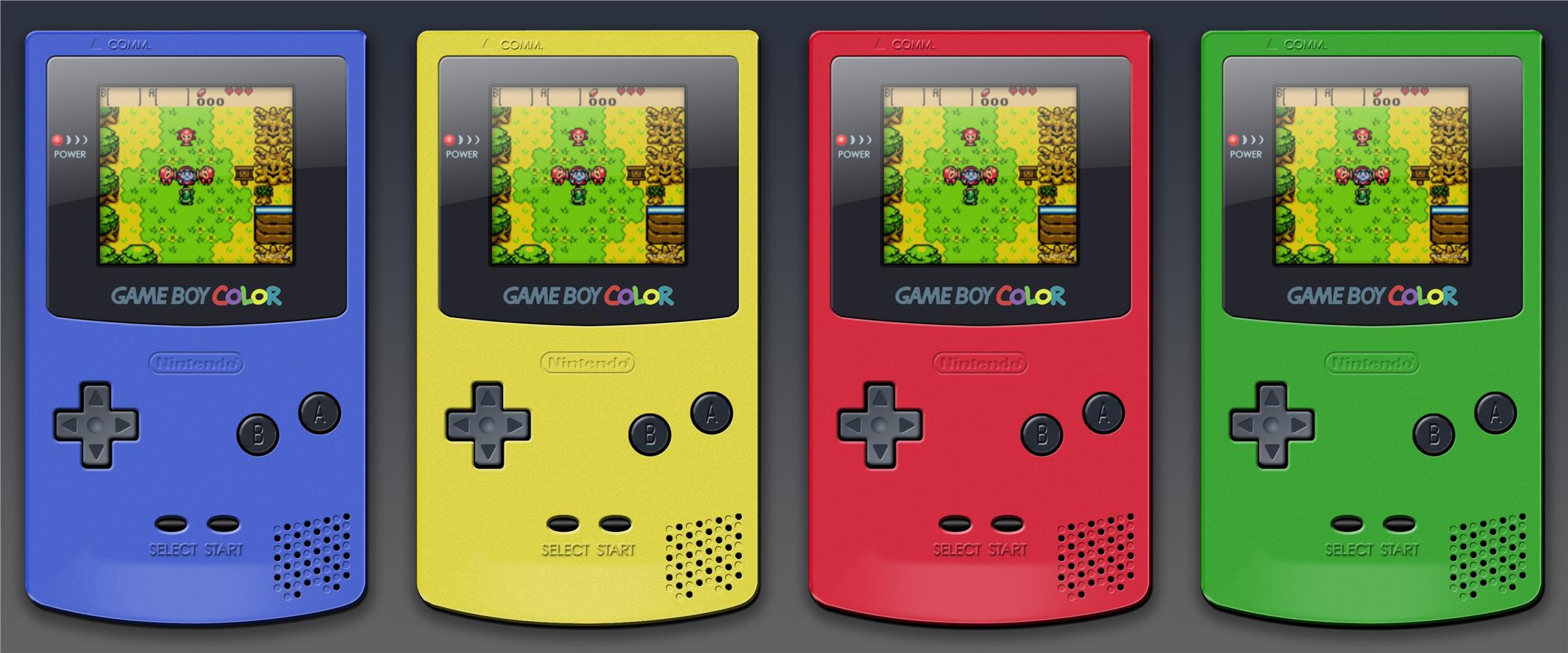 Game boy color - Nintendo Gameboy Color With 1 Multigames Bundle