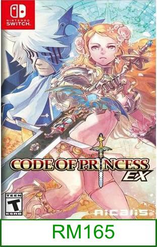 Nintendo Switch Code of Princess EX ★Brand New & Sealed★